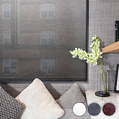 加點 100x185cm DIY搖控電動 科技網布系列遮光 捲簾 窗簾
