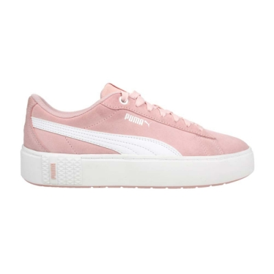 PUMA SMASH PLATFORM V2 SD 女休閒運動鞋-厚底鞋 板鞋 37303705 粉紅白