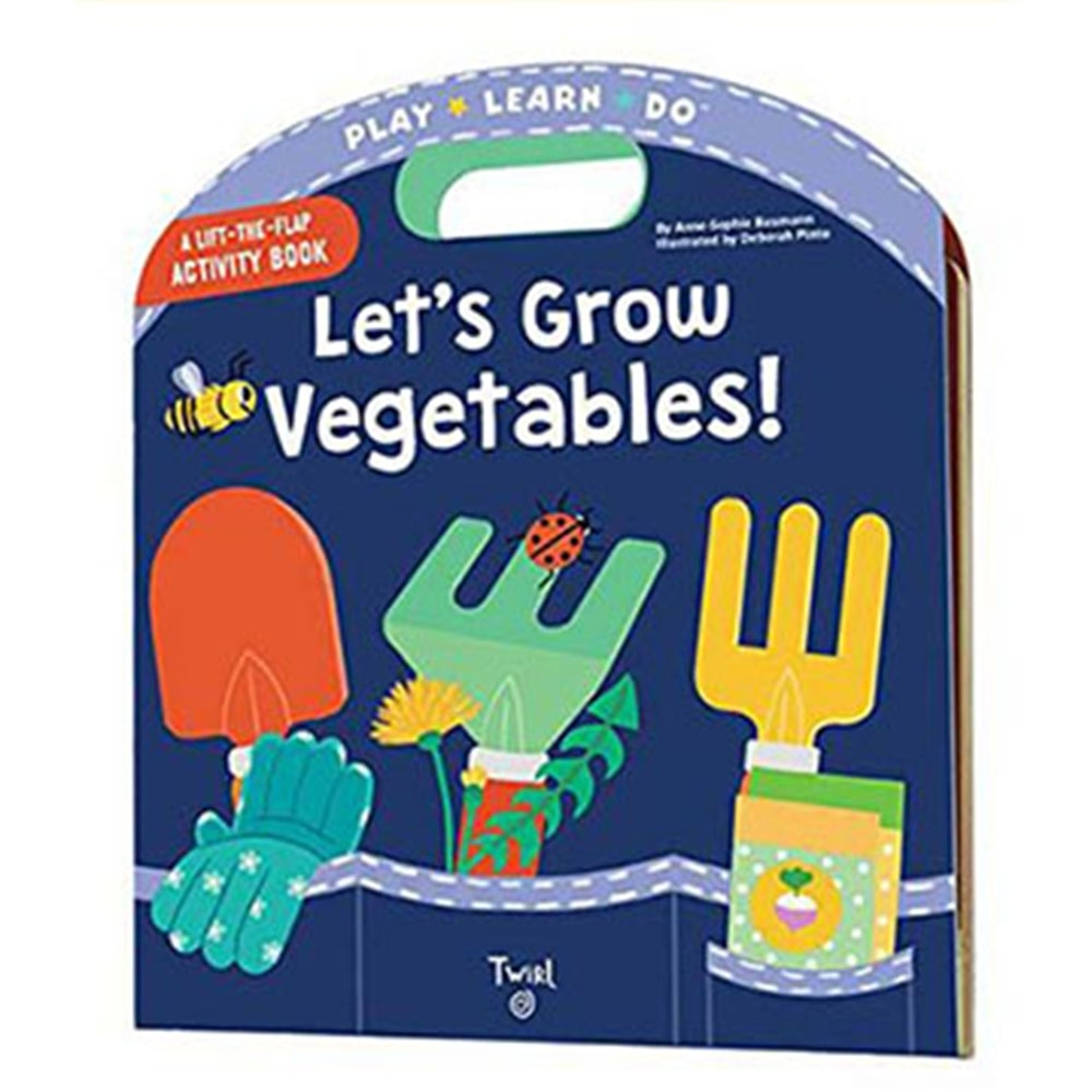 Let's Grow Vegetables 一起來種菜手提操作書