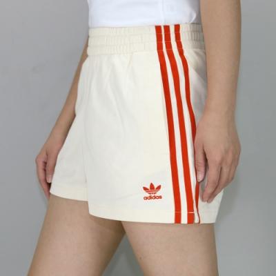 ADIDAS SHORTS 女 短褲 米紅