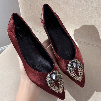 KEITH-WILL時尚鞋館 狂賣千雙輕盈舒適尖頭鞋-紅