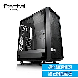 【Fractal Design】 Meshify C - TG 淺色鋼化玻璃透側電腦機殼