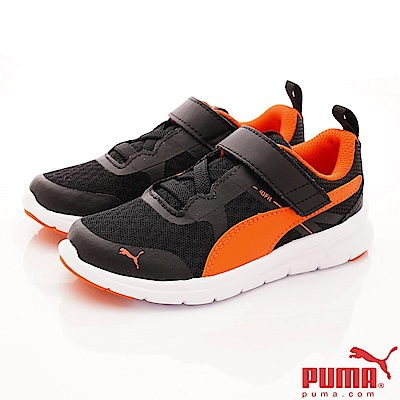 PUMA童鞋 經典簡約慢跑款 ON90683-07灰橘(中小童段)