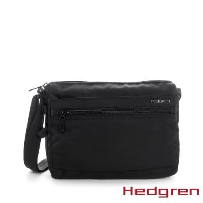 【Hedgren】INNER CITY輕量經典 側背包-墨黑