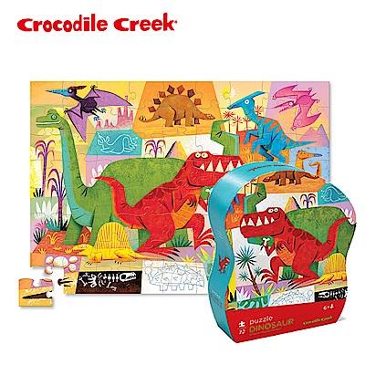 美國Crocodile Creek 遊樂學習拼圖系列-恐龍世界