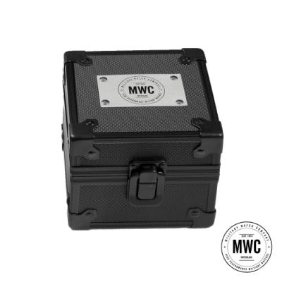 MWC瑞士軍錶 官方不鏽鋼收藏錶盒 單支裝 (黑色)