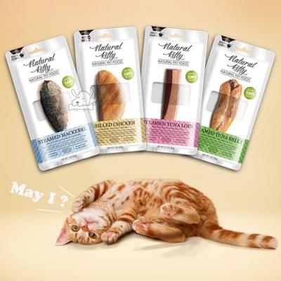 Natural Kitty自然小貓 100%天然鮮零食系列 24入