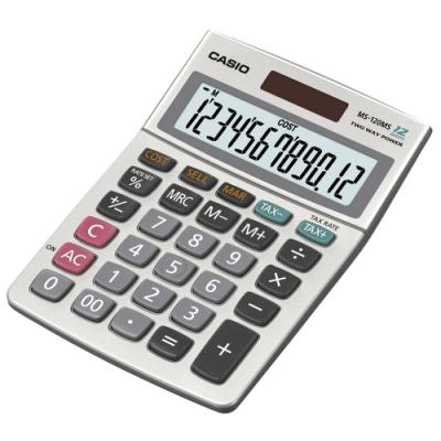 CASIO 12位元 可摺式面板桌上型計算機(DW-120MS)