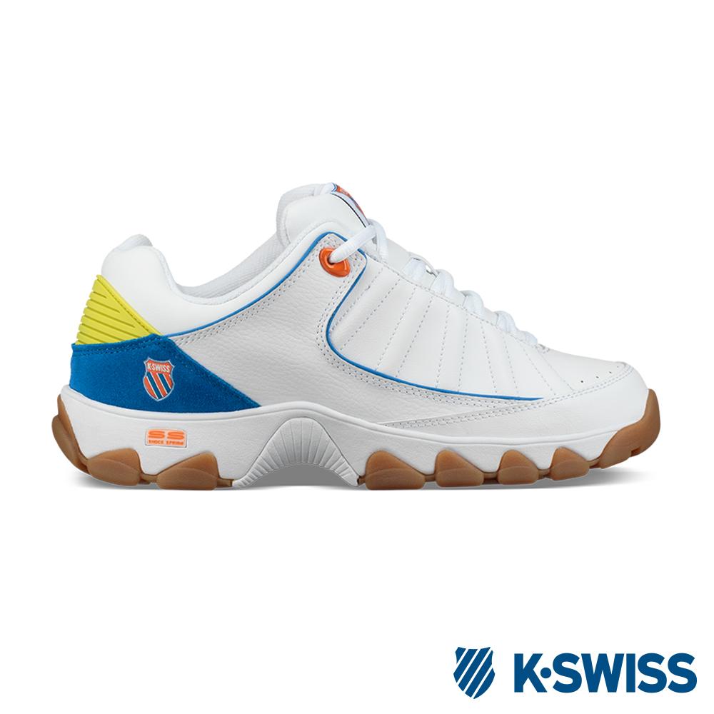 K-SWISS ST529 LE 老爹鞋-女-白/藍/橘