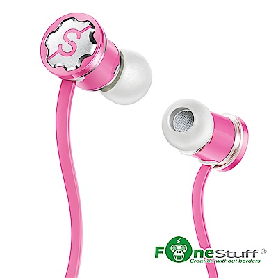【兩入促銷】Fonestuff Fits 抗噪重低音耳塞式耳機(轉)
