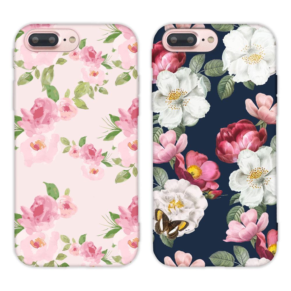 【TOYSELECT】iPhone 7/8Plus水彩文藝設計手機殼