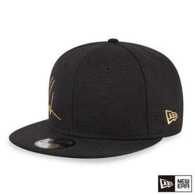 NEW ERA 9FIFTY 950 TUPAC 金繡線簽名 黑 棒球帽