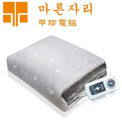 韓國甲珍 單人變頻恆溫電熱毯 KR3800J