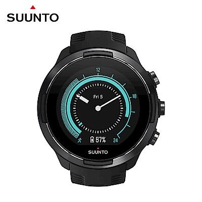 SUUNTO 9 Baro 超長電池續航力及氣壓式高度的多項目運動GPS腕錶 (經典黑)