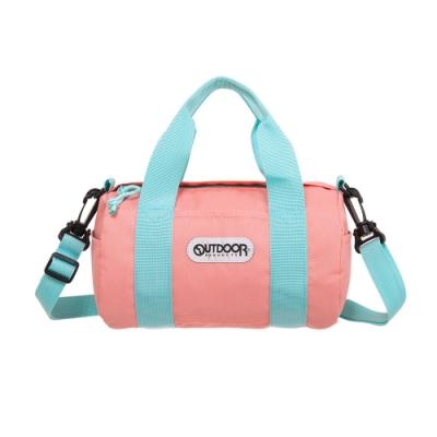 【OUTDOOR】玩色系列-圓筒側背包-蜜桃色 OD101129PH