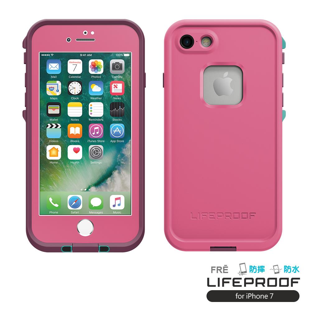 LIFEPROOF iPhone 7 專用 防水防雪防震防泥超強保護殼-FRE(甜心紫)