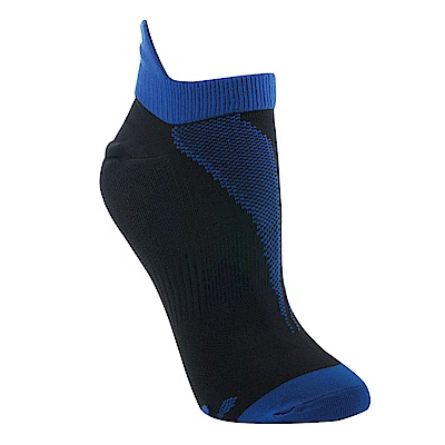 【ZEPRO】女子透氣慢跑踝襪-海洋藍
