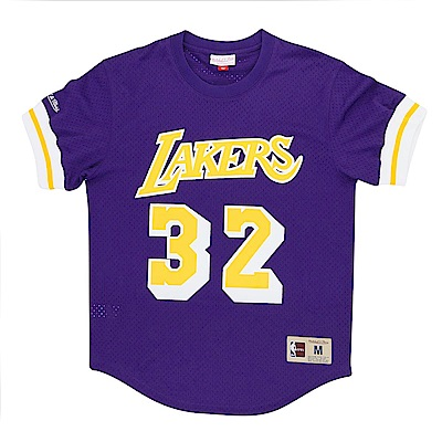 M&N NBA 球員號碼T恤 湖人隊 Magic Johnson
