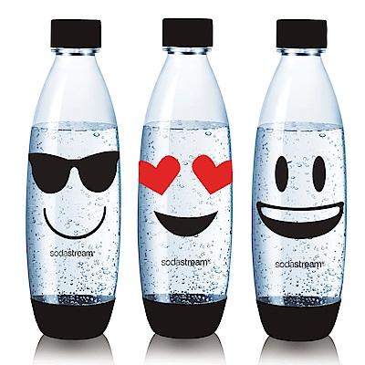 Sodastream emoji水滴寶特瓶1L-三入