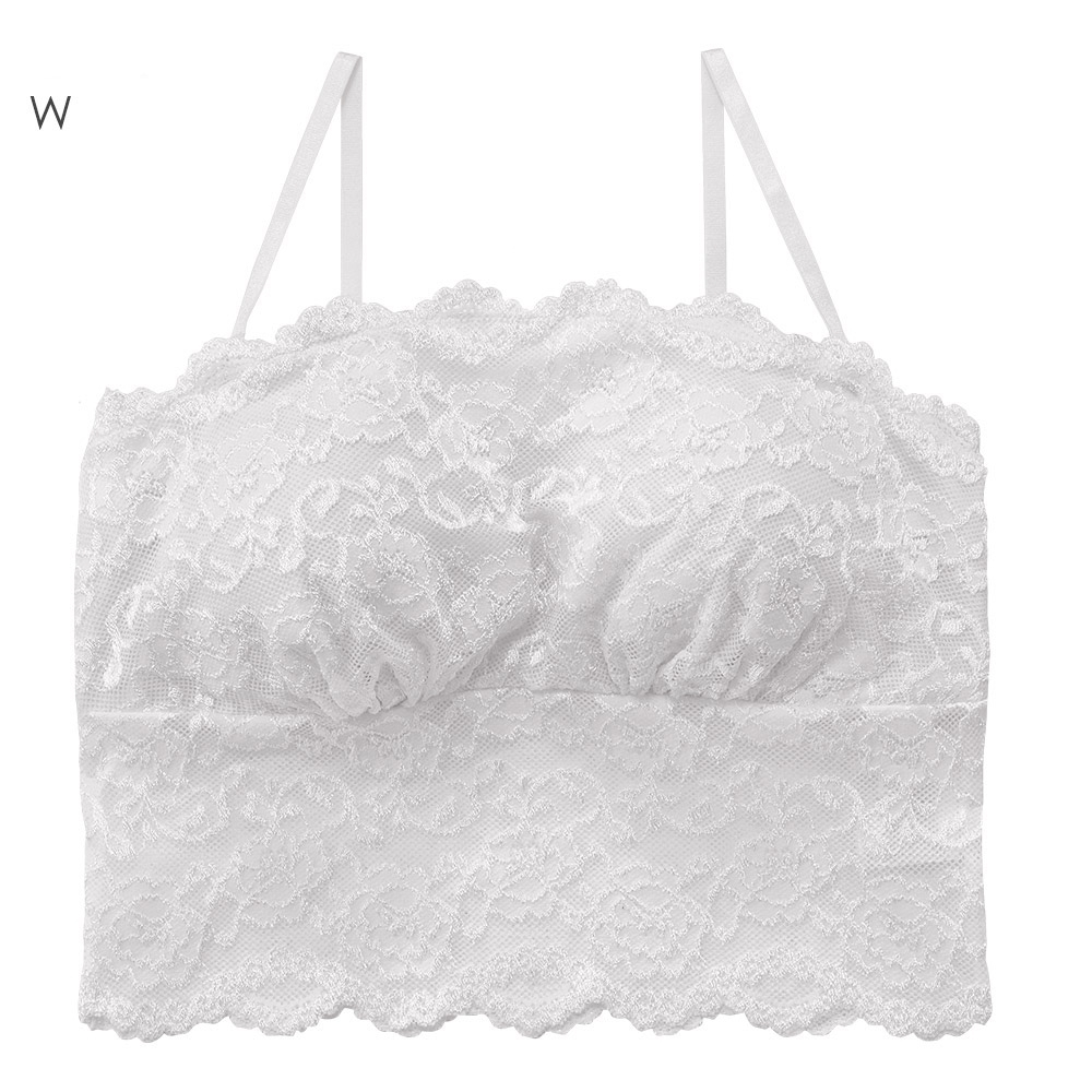 aimerfeel 蕾絲直筒平口內衣-白色-773818-W