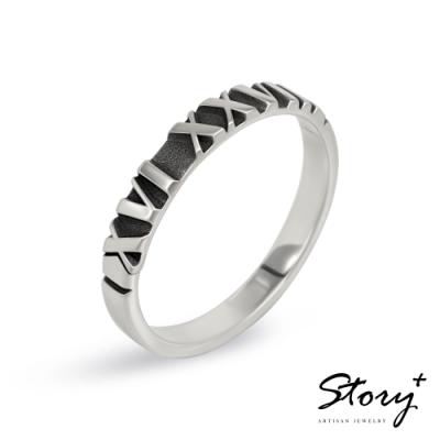 STORY故事銀飾-紀念日系列-ONLY ONE訂製純銀戒指(男款)