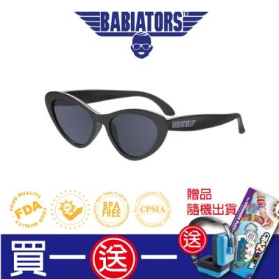 【美國Babiators】造型款系列嬰幼兒太陽眼鏡-黑色貓眼石 0-5歲