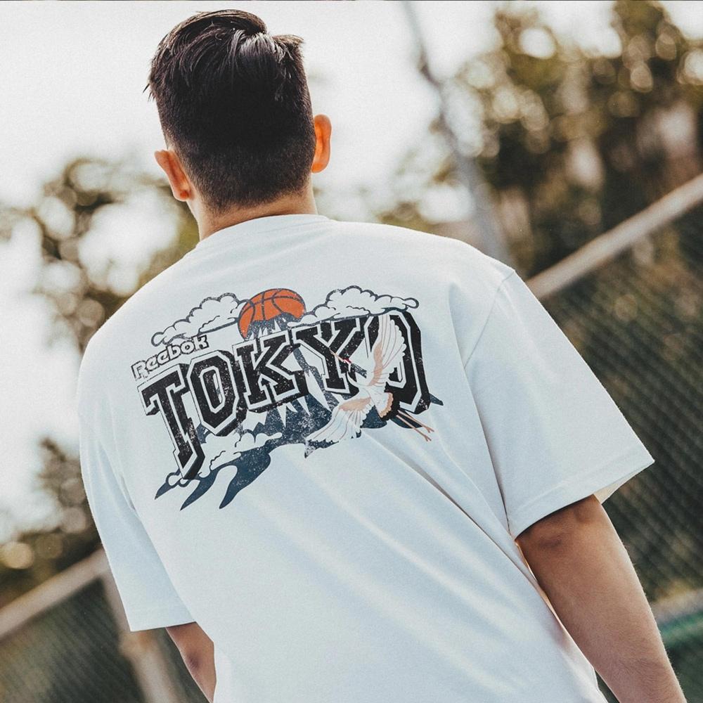 Reebok Tokyo 城市短袖上衣 男 GT4616