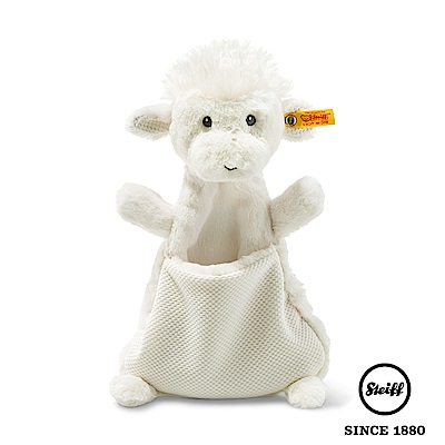STEIFF德國金耳釦泰迪熊 棉羊Baby(嬰幼兒安撫巾)