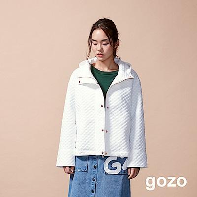gozo 3D立體點點造型夾克外套(二色)