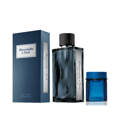 Abercrombie & Fitch 湛藍男性淡香水 100ml 搭贈隨機 4ml 小香