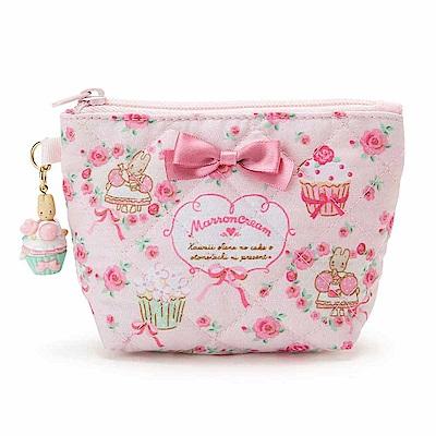 Sanrio-兔媽媽杯子蛋糕系列鋪棉面紙化妝包