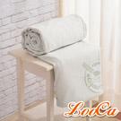 LooCa 法國防蹣防蚊旗艦舒柔3-6cm床墊布套-加大6尺