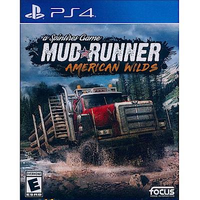 旋轉輪胎:泥濘奔馳 美洲荒野版 Spintires: MudRunner-PS4 英文美版
