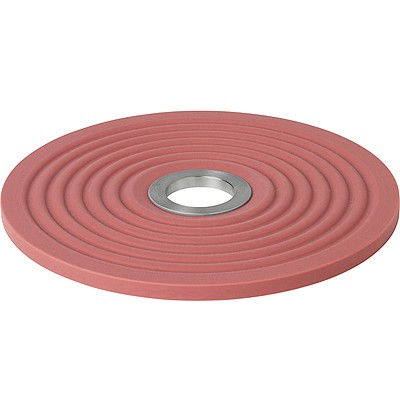 《BLOMUS》Oolong波紋圓隔熱墊(玫紅14cm)