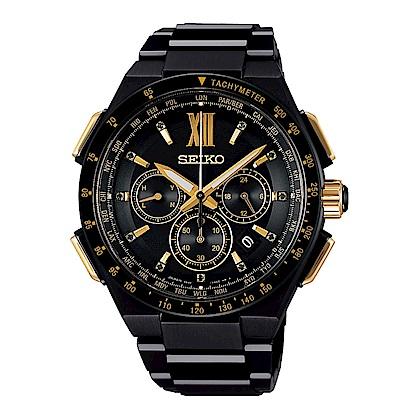 SEIKO BRIGHTZ 完美時間太陽能電波腕錶/8B92-0AG0SD(SAGA212