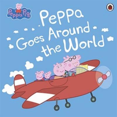 Peppa Goes Around The World 佩佩豬環遊世界平裝故事書