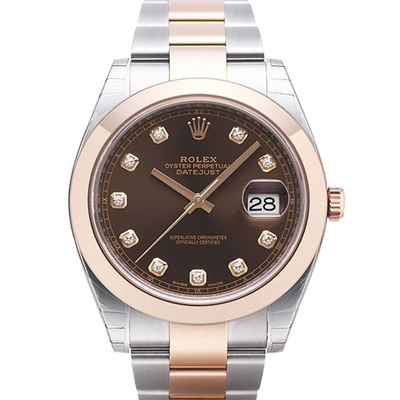 ROLEX 勞力士 Datejust 126301 日誌型機械腕錶x巧克力鑽x41mm