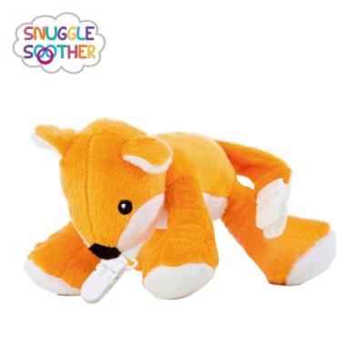 Snuggle史納哥 安撫絨毛玩偶娃娃奶嘴夾-小狐狸