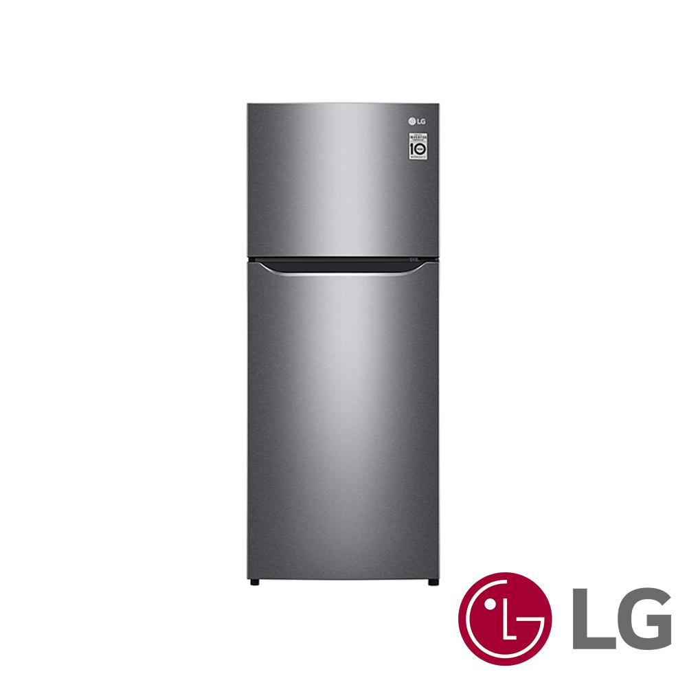 LG樂金186公升Smart 變頻上下門冰箱(精緻銀)GN-I235DS
