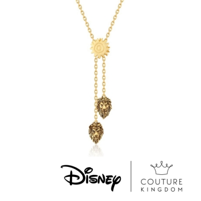 Disney Jewellery by Couture Kingdom迪士尼獅子王雙獅項鍊