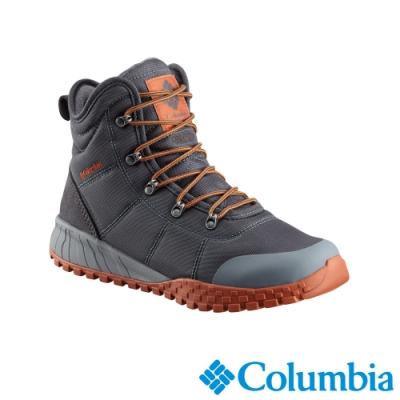 Columbia 哥倫比亞 男款- Omni TECH防水鋁點保暖雪靴-深灰