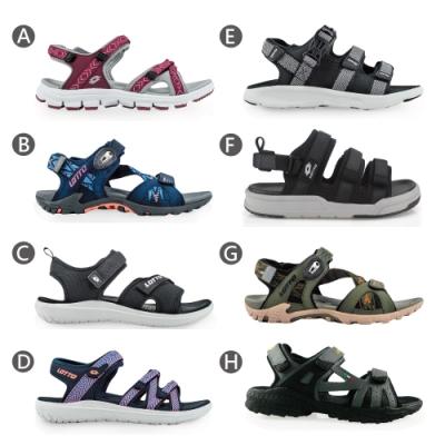 LOTTO 義大利 男女 休閒織帶涼鞋-8款可選