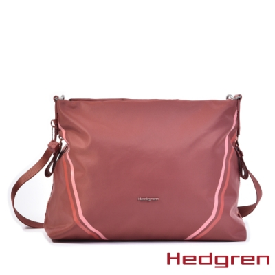 【Hedgren】磚紅運動休閒側肩包 – HBOO05 DRIVE