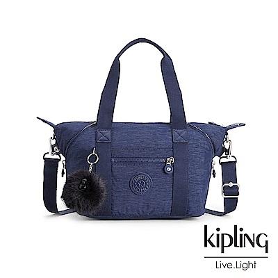 Kipling星空藍手提側背包(小)
