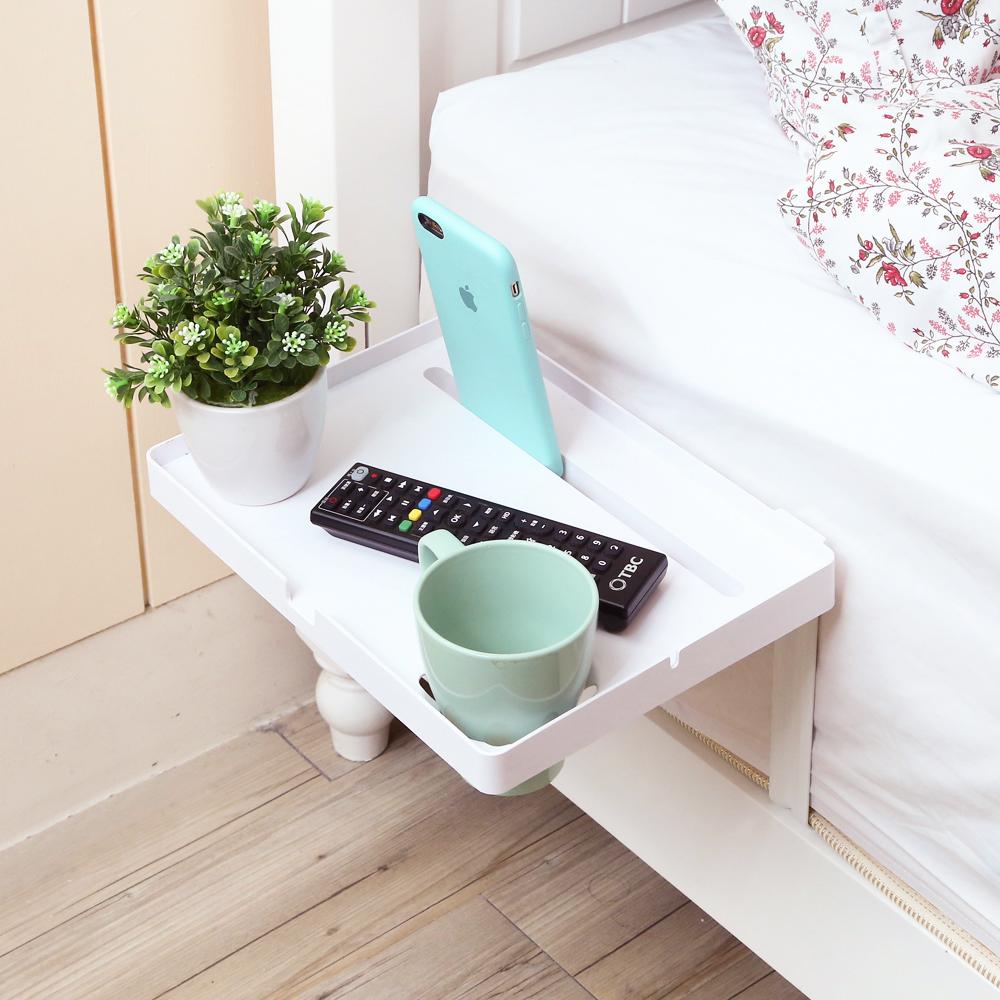 澄境 極簡機能床側邊收納架(4入)-DIY