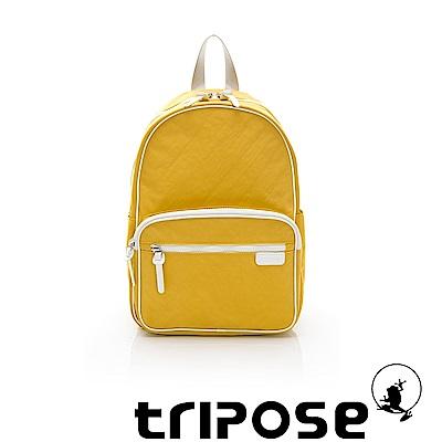 tripose PIPE系列滾邊後背包 黃