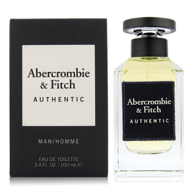 Abercrombie&Fitch Authentic A&F 真我男性淡香水100ml