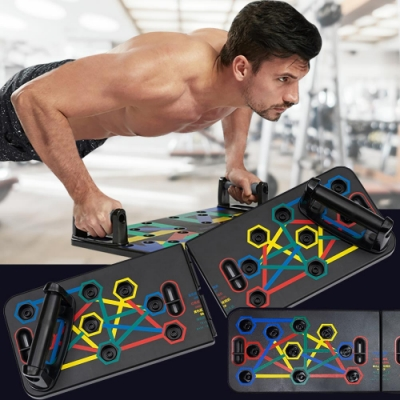 [時時樂限定]多模式伏地挺身訓練板-基礎款(12模式)加贈超彈性涼感衣