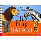 Flip Flap Safari 非洲動物大合體精裝翻頁書(美國版)