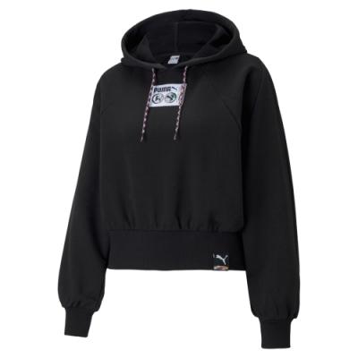 【PUMA官方旗艦】流行系列PI長厚連帽T恤 女性 59969801